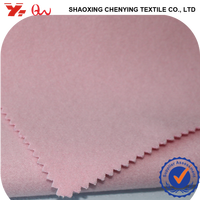 pink wool fabric for women wear 100%polyester different types of fabric