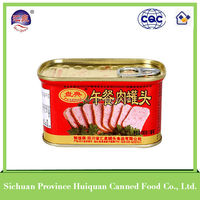 China wholesale merchandise canned meat/luncheon meat canned food