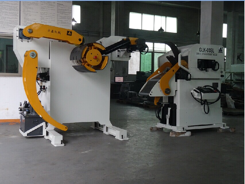 punch press feeder machine for car seatings