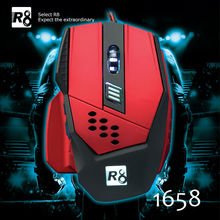 2014 Newest Gaming Mose Computer Accessories 6-Button Mouse