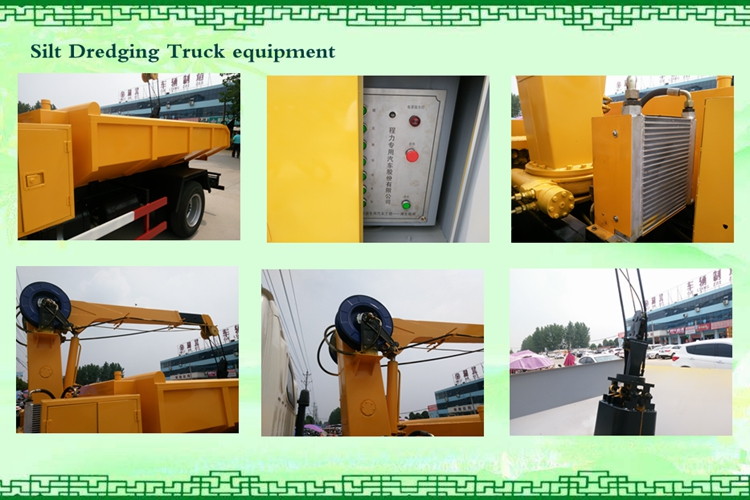 cheng li dongfeng FRK 95 hp new development dump silt dredging truck for sale