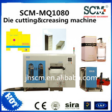 SCM-MQ1080 paper Die cutting machine, die cutting & creasing machine