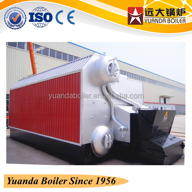 2-8Ton Coal Boiler Exported Europe Industrial Chain/Reciprocate Grate Coal Fired Steam furnace for Sale