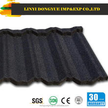 High quality thin film flexible roofing metal shingle/stone coated steel roofing tile