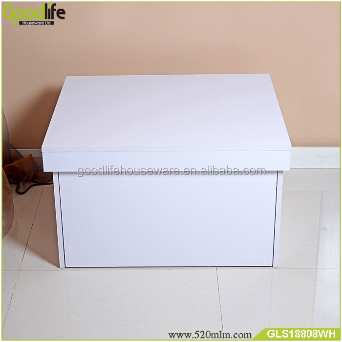 Cheap price wholesale custom drop front shoe box wood