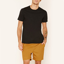 2017 fashion t shirt plain cotton soft touch jersey tshirts with logo for men