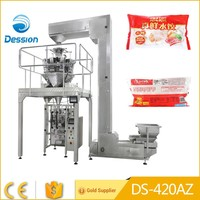 Hot sale automatic weighing dumplings frozen food packing machine