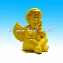 Ceramic cherub figurine decoration , ceramic cherub statue
