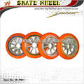 Professional inline skate wheel, super high rebound inline pu wheel