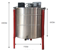 2016 hot 12 frames radial motor electric honey extractor