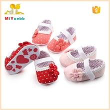 Hot Flower Cute Soft Sole Toddler Shoes Girls