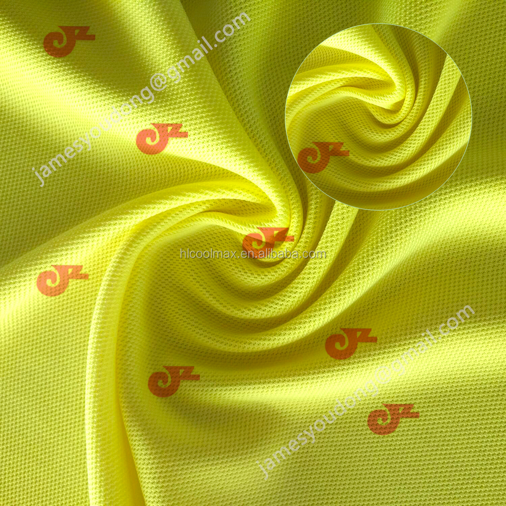 Brushed Dry Fit 87% Polyester 13% Spandex Woven Fabric