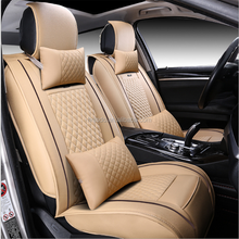 Luxury apperance comfortable leather car seat cover