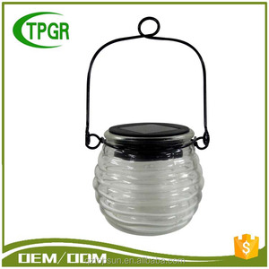 Latest Solar Products Transparence Glass Solar Led Garden Replacement Energy Lamp