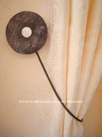Magnetic Tieback for Curtains