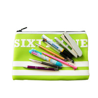 Anti wear zipper beautiful unique pencil bag