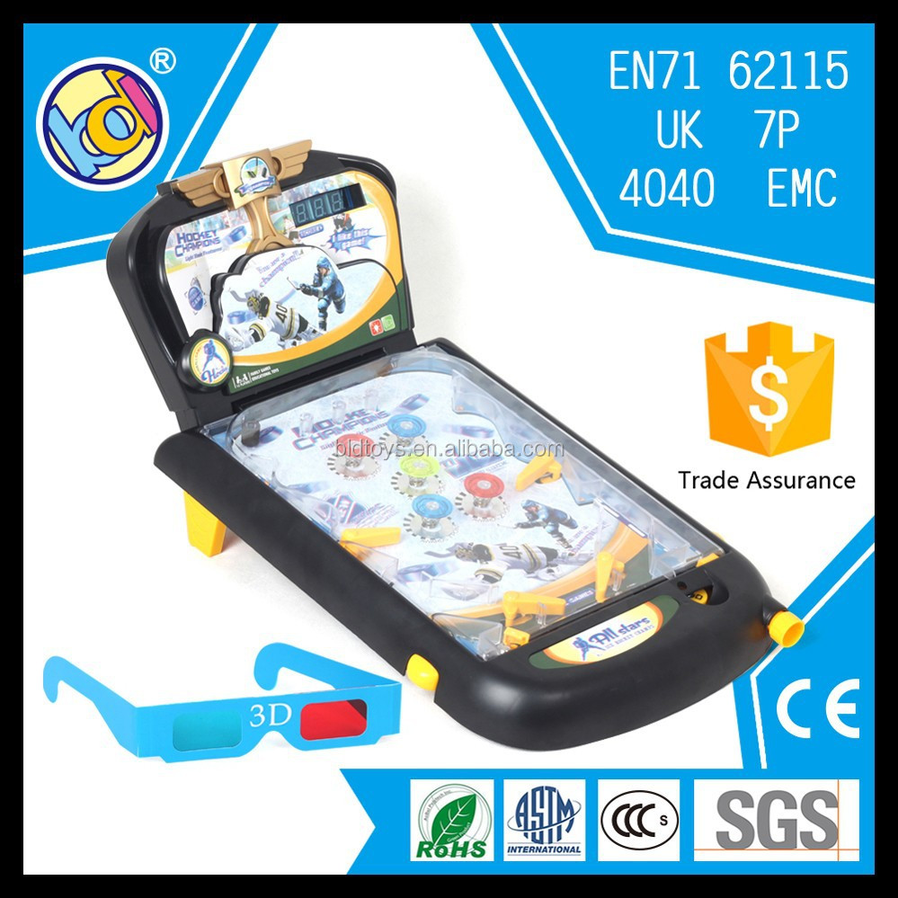 new design electronic toy children pinball machine