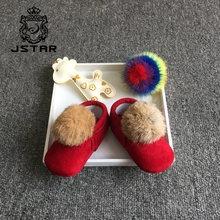 Various Styles Fancy Girls Sock Baby Winter Shoes