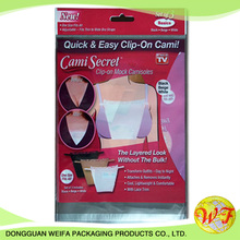 Vacuum plastic bags clothes and garment accessories