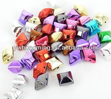 Random Mix 12mm loose UV plating acrylic beads for kids girls fashion jewelry making!!