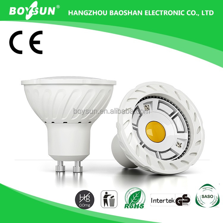 GU10/Mr16 COB Warm White 3W 5W 6W 7W Construction Spotlight