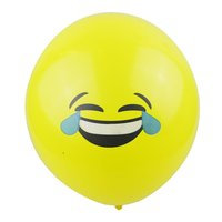 Party decoration latex balloon made in china emoji balloon