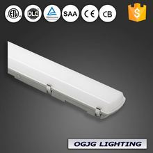 2017 HOT product cool white color 4ft 5ft led tri-proof light