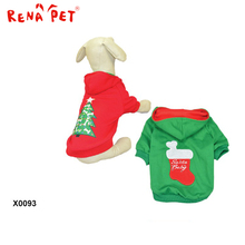 X0093 personalized designs christmas product pet costume dog clothes