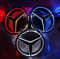 High Quality LED Logo Light For Mercedes-Benz A B C E CLA CLS GLK ML GL G Classes for benz logo light