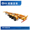 Supply 20ft Container Semi Trailer Transport