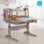 Height Adjustable Kids Study Table with Chair Set V105