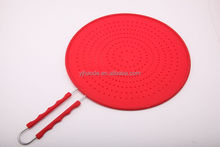 Eco-friendly FDA Silicone Kitchen utensils oil strainer filtering/Oil separation net