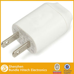 White US plug AC wall charger For Apple iPhone 5 ipad 4 Mini