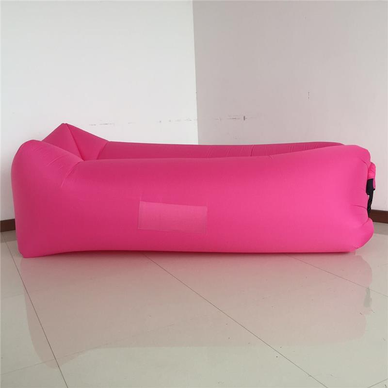 Hot selling inflatable sofa with led light 1/one opening/month/air way