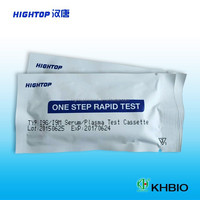 Invitro Diagnostic Test Typhoid Blood Type Rapid Test Kits Typhoid Test