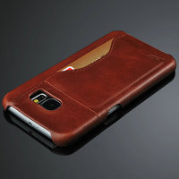 Wholesale no MOQ Genuine leather for Samsung Galaxy S6 case