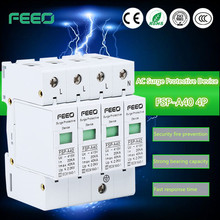Hot sell top quality main panel surge protector metal oxide gapless low voltage lightning surge arrester with high quality