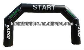 TOP inflatable advertising arch way/ inflatable finish line arch/ racing start line arch