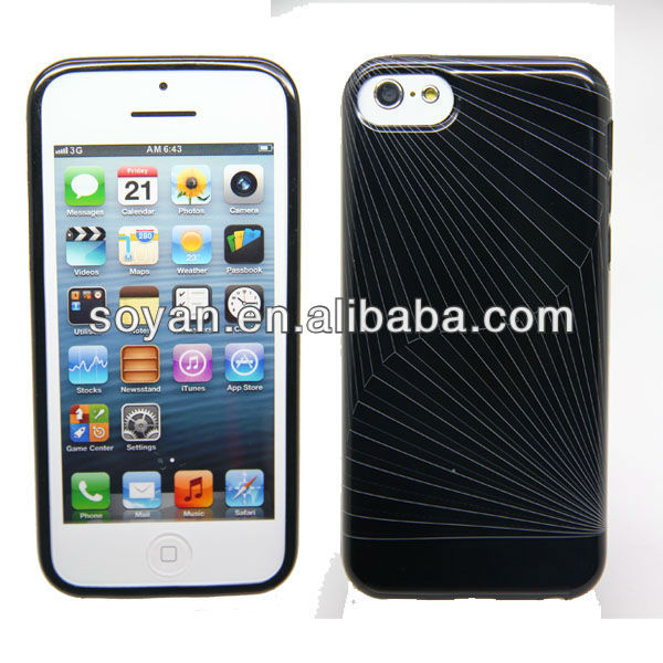 Good Quality IMD TPU case for phone5 light!!!