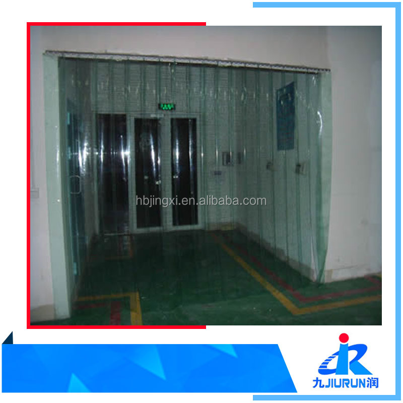 Flexible plastic clear curtain roll/freezer color pvc strip curtain