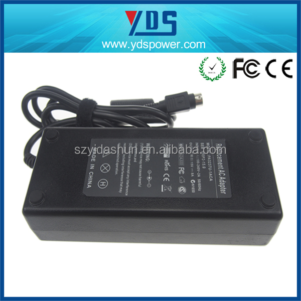 2016 best price alibaba co uk 15v 8a 120W indoor laptop adapter Special 4 hole for Toshiba series travel power ac dc adapter
