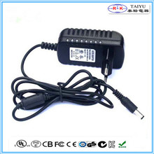 dc 12v 2a wall mount charger set top box power adapter 12v eu plug