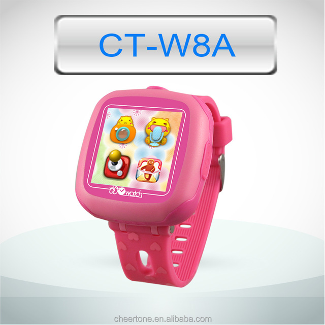 Popular Kids Touch Screen Smart Watch with Camera and Pedometer
