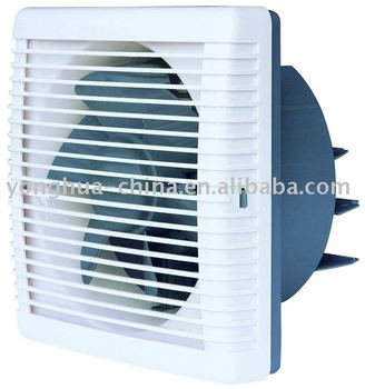 Auto/electric shutter bathroom / kitchen Exhaust Fan with mesh 100% copper motor