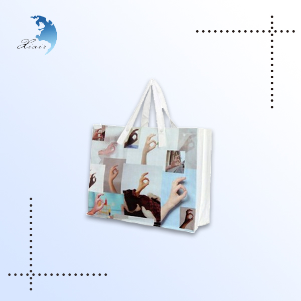 tote canvas college bags girls with custom printed logo