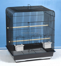 Wholesale parrots cages metal large with wheels bird aviary.