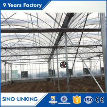 SINOLINKING hydroponic greenhouse systems greenhouse rolling benches from factory