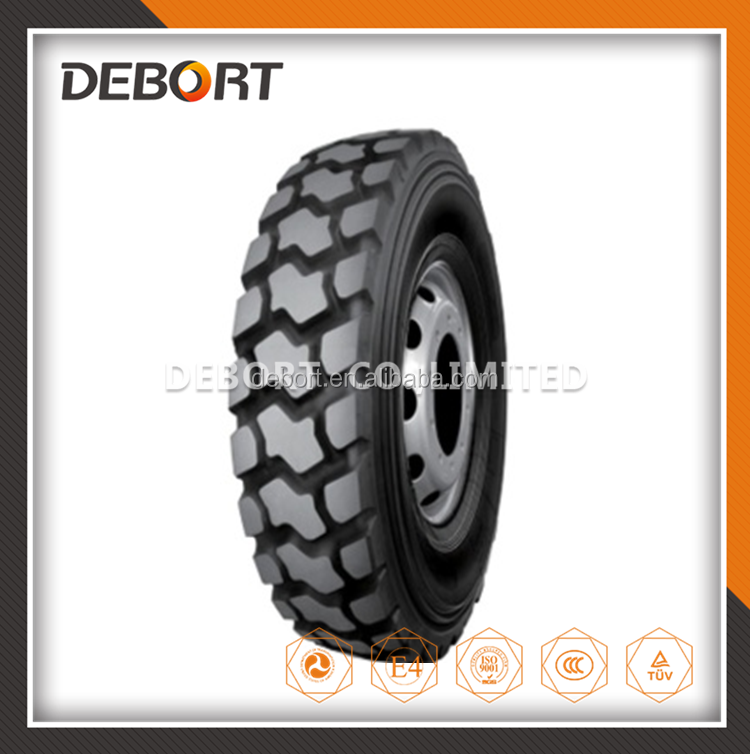 Chinese radial commercial truck tire 11.00R20 with rims for distributors