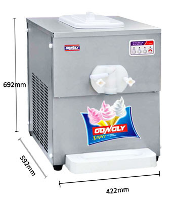 Soft serve Ice cream maker for home used