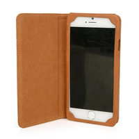 Perfect protective flip phone case genuine leather case for iphone 6